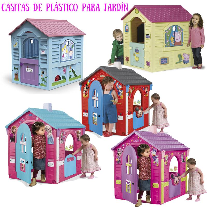 casitas infantiles plastico licencias