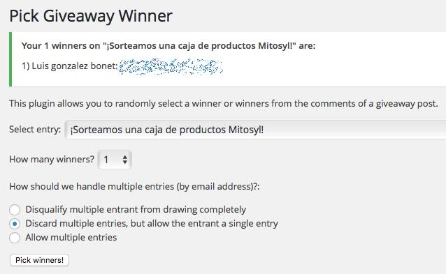 Ganador Mitosyl