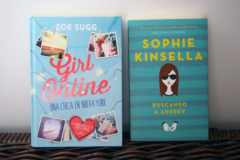 Girl online, Zoella y Buscando a Audrey de Sophie Kinsella