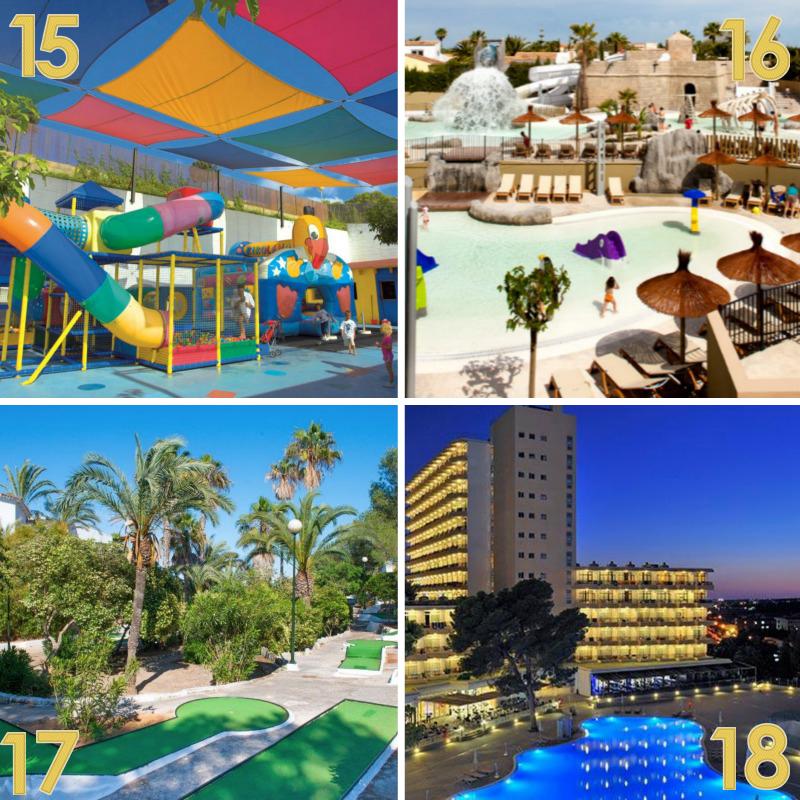Mejores hoteles familiares 15-16-17-18