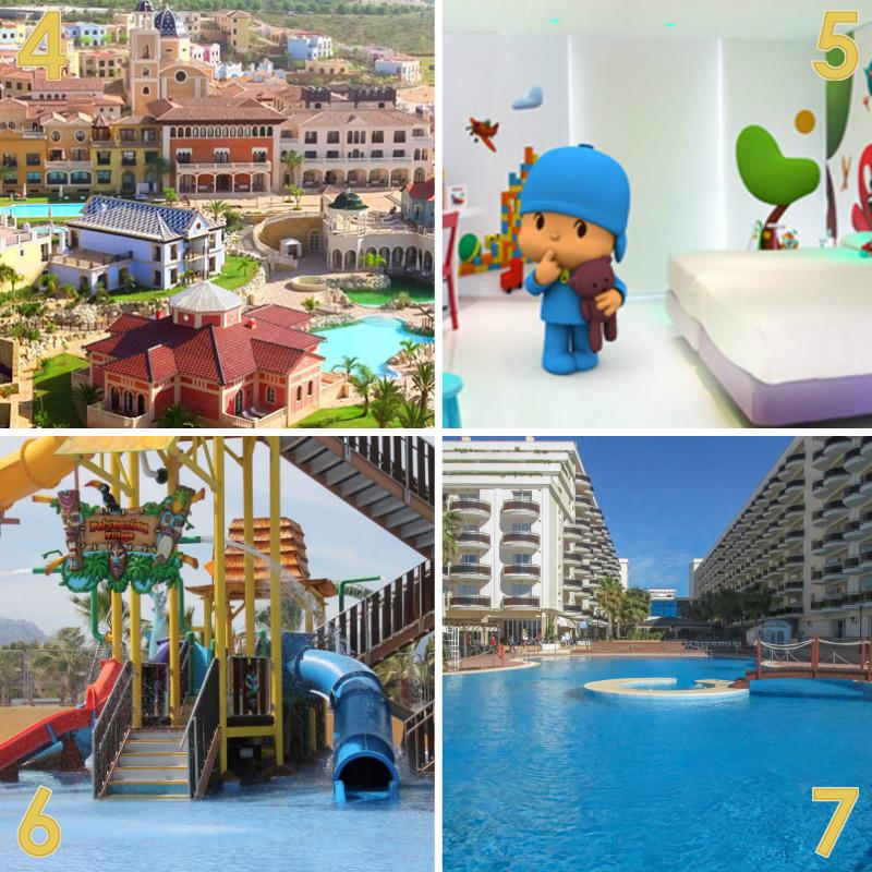 mejores hoteles familiares 4-5-6-7
