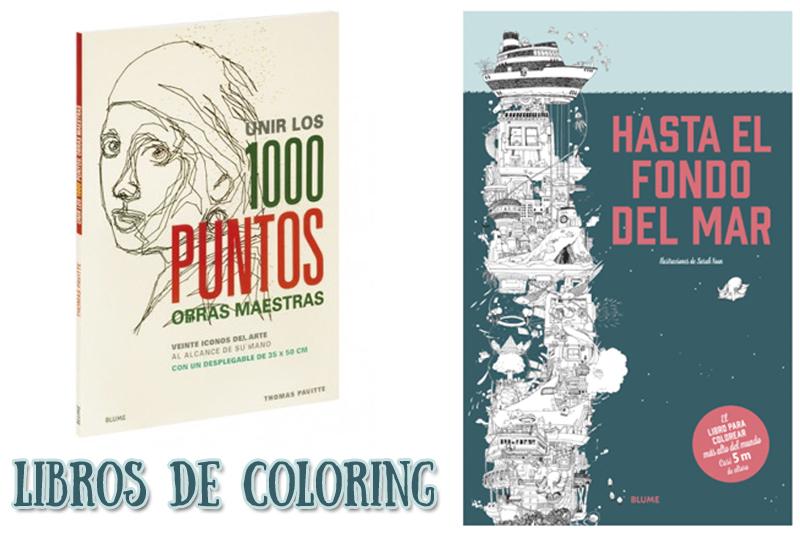 Libros de coloring para pequeños…y mayores | Mamis y bebés