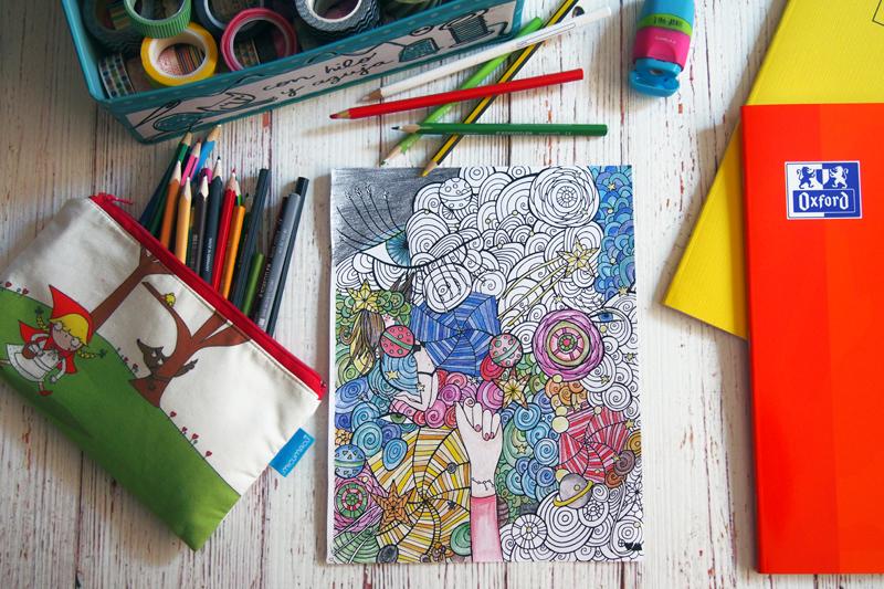 pintar libros coloring