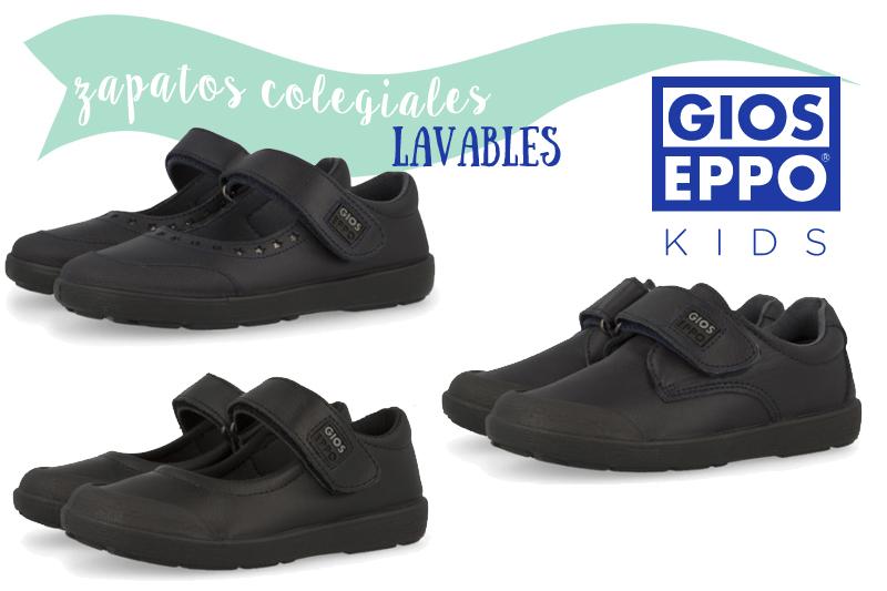 zapatos colegiales lavables de Gioseppo