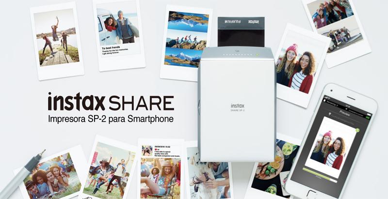 Instax Share SP-2 Impresora para el movil
