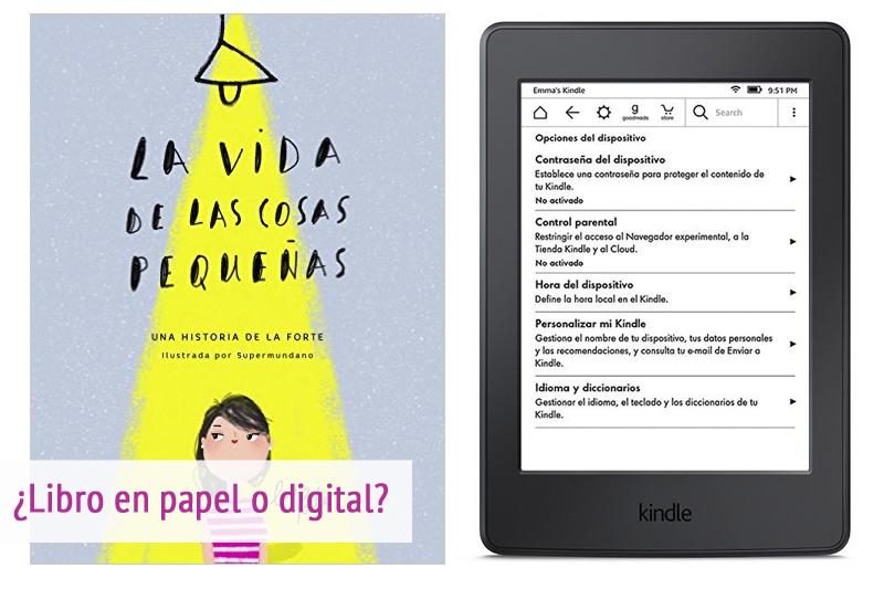 libro en papel o libro digital