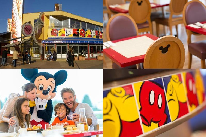 Café Mickey. Comer en Disneyland París