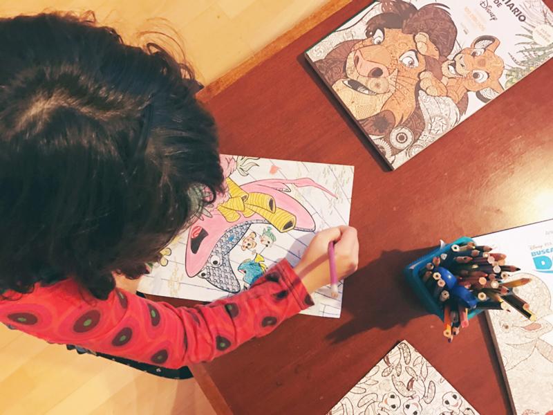 Colorterapia Disney