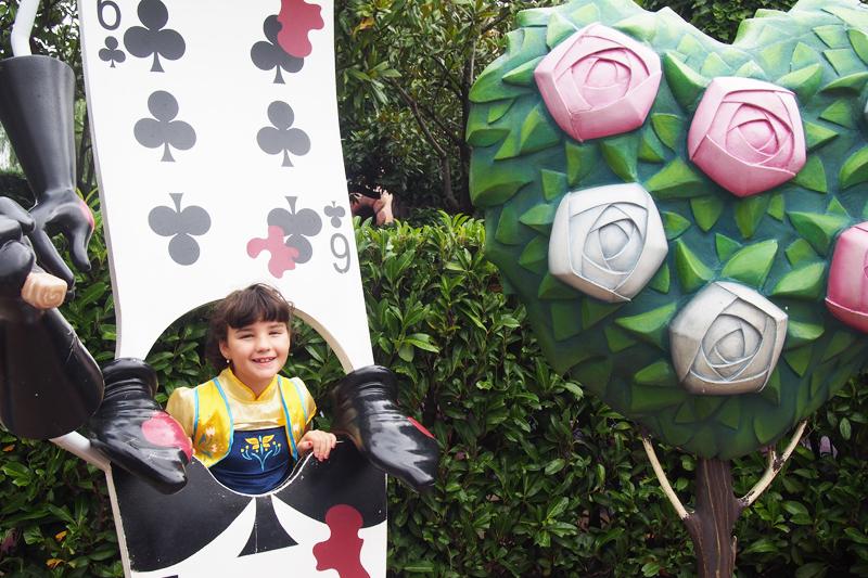 Laberinto de Alicia Disneyland París