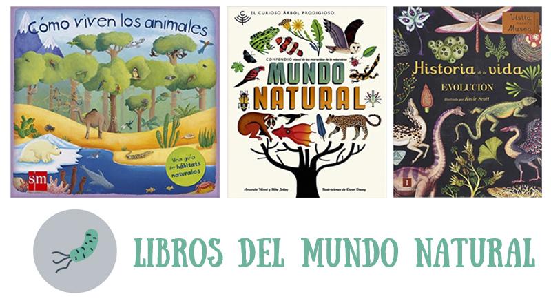 libros del mundo natural