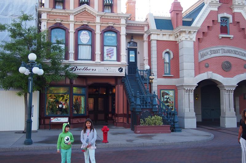 Main Street Disneyland París. Parque Disney