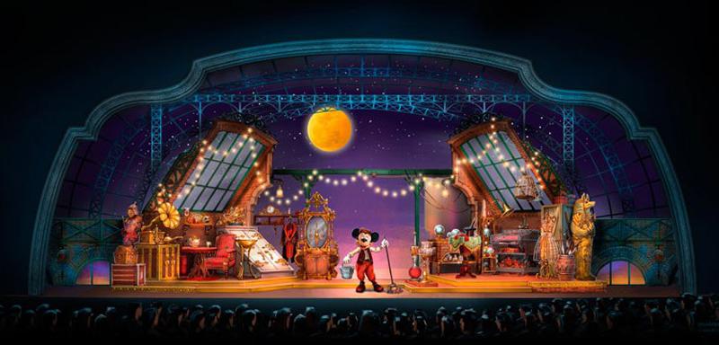 Walt Disney Studios. Mickey y el mago