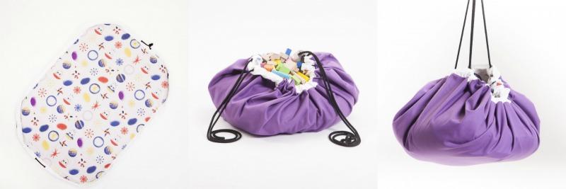 los textiles de Sleepaa - recoge juguetes