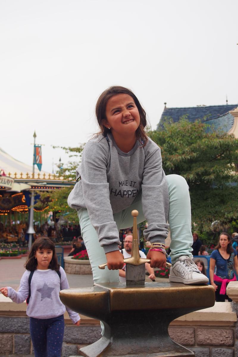 Disneyland París, rey arturo