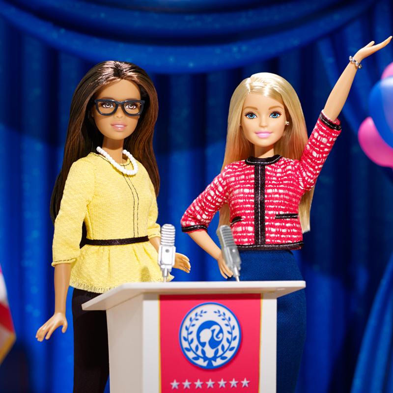 Barbie presidenta