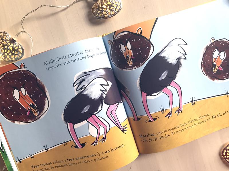 Un avestruz con mucha luz 02