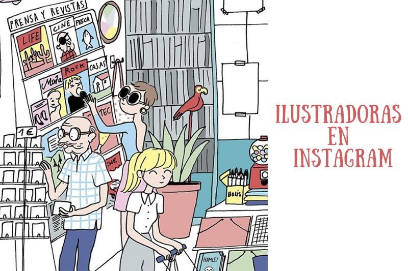 Ilustradoras en instagram