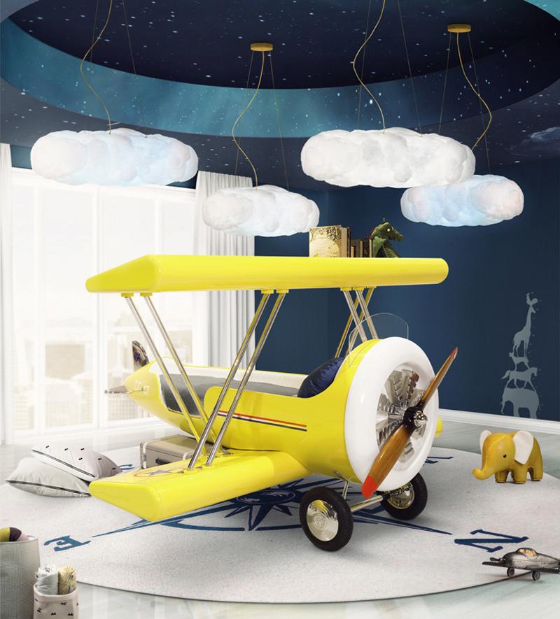 circu, muebles infantiles aeroplano