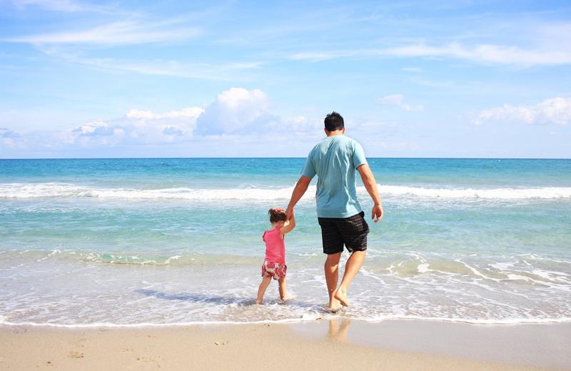 consejos para ir a la playa con niños