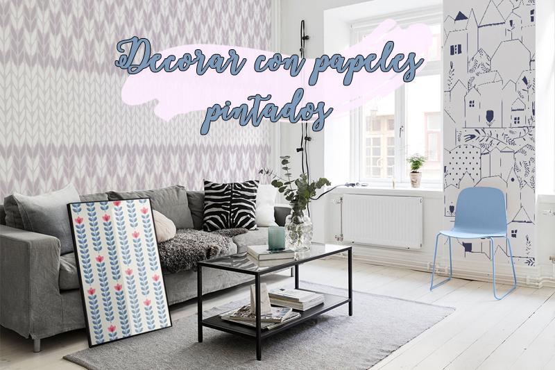 Decoraci n infantil archivos mamis y beb s - Papeles pintados para muebles ...
