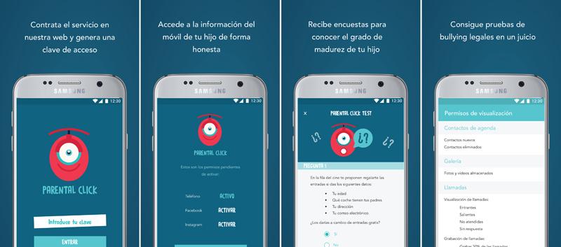 Parental click primera app antibullying