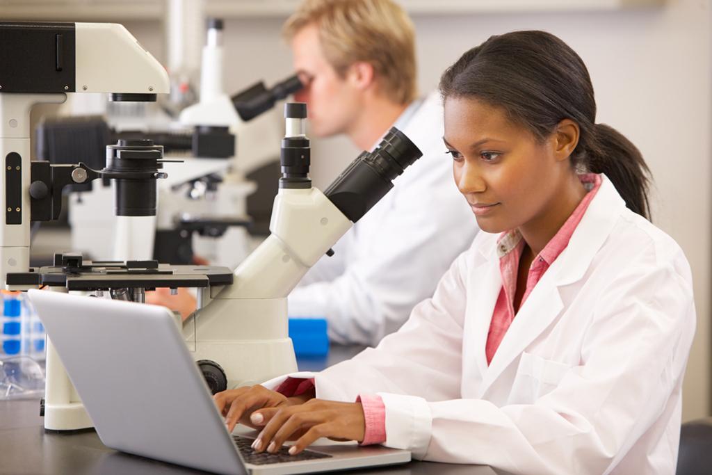 científica negra