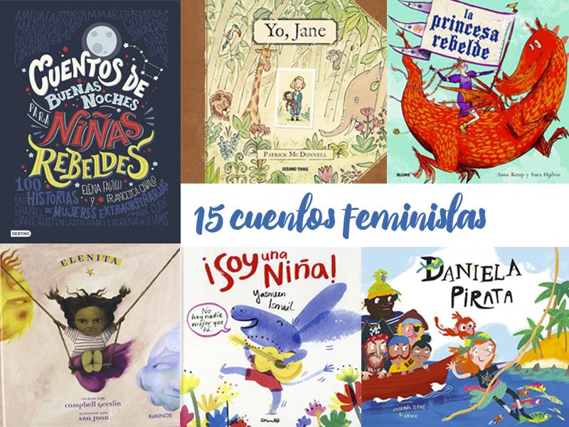 15 cuentos feministas