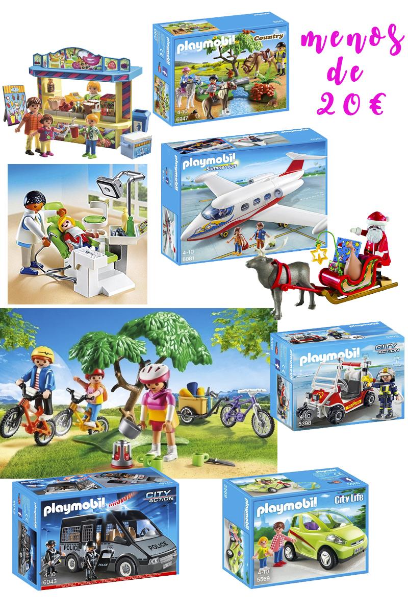 Playmobil menos 20 euros