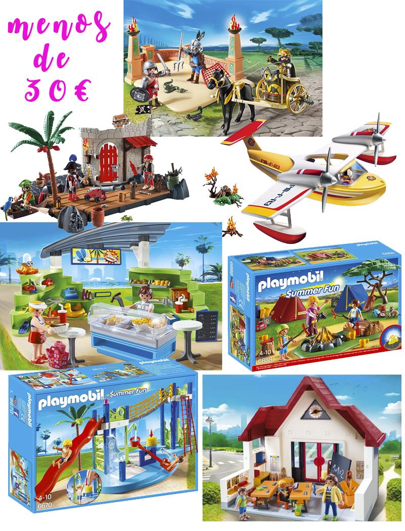 playmobil menos de 30 euros