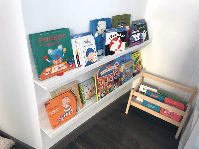Una habitación de juegos para los niños