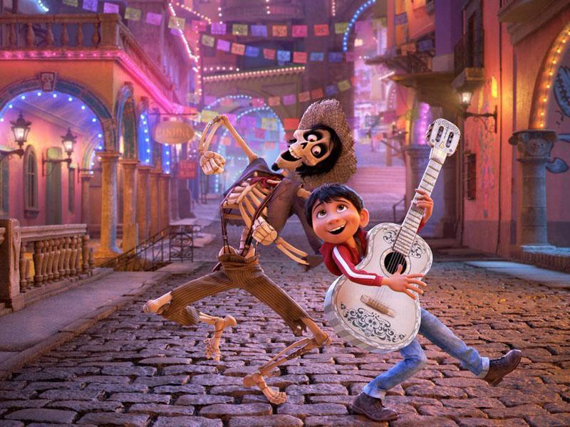 Coco. películas para la navidad 2017