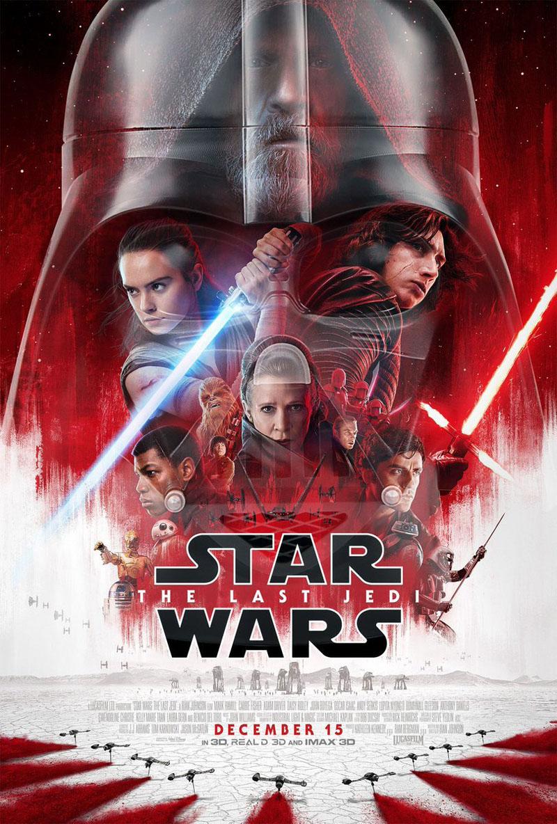 películas para la navidad 2017. Star wars el ultimo jedi