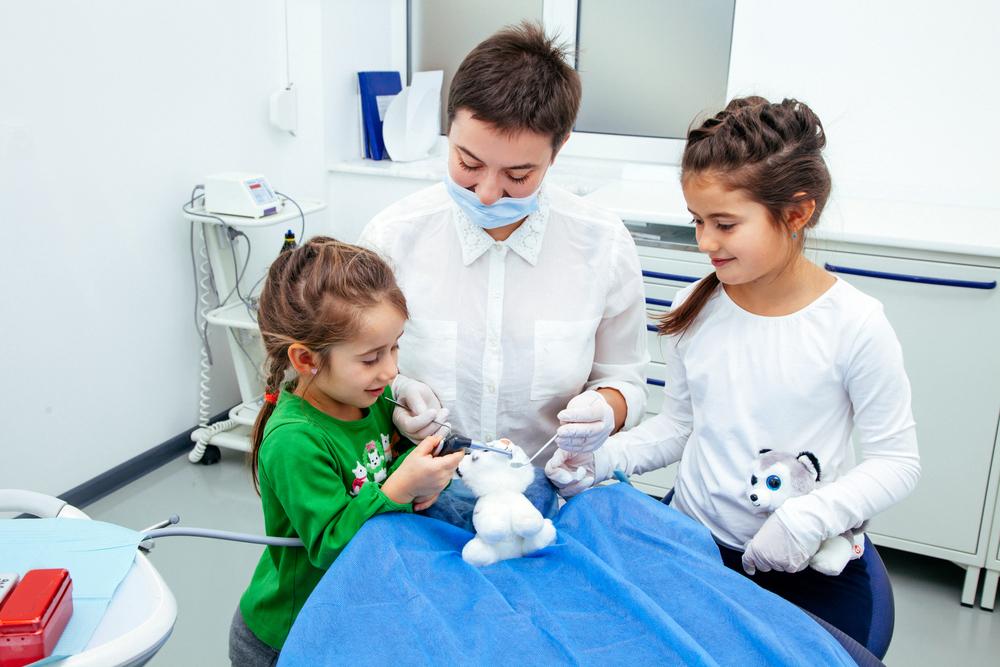 dentista con niños