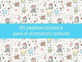 25 papeles pintados para el dormitorio infantil
