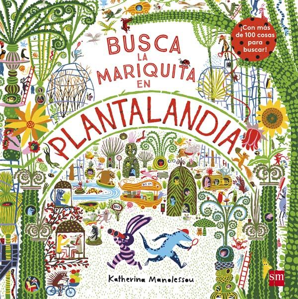 Busca la mariquita en Plantalandia