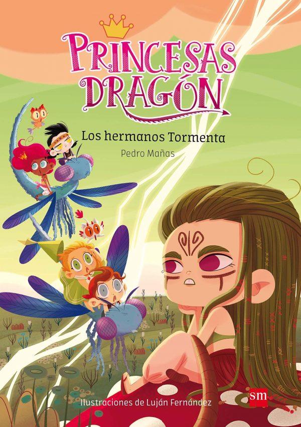 Princesas dragon 5. Los hermanos tormenta