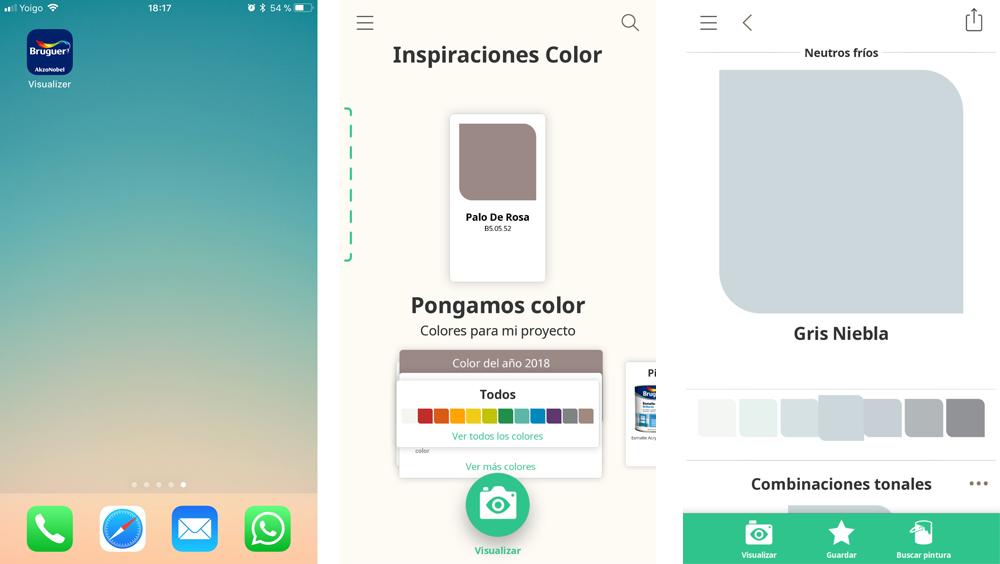 Visualizer, la app de Bruguer