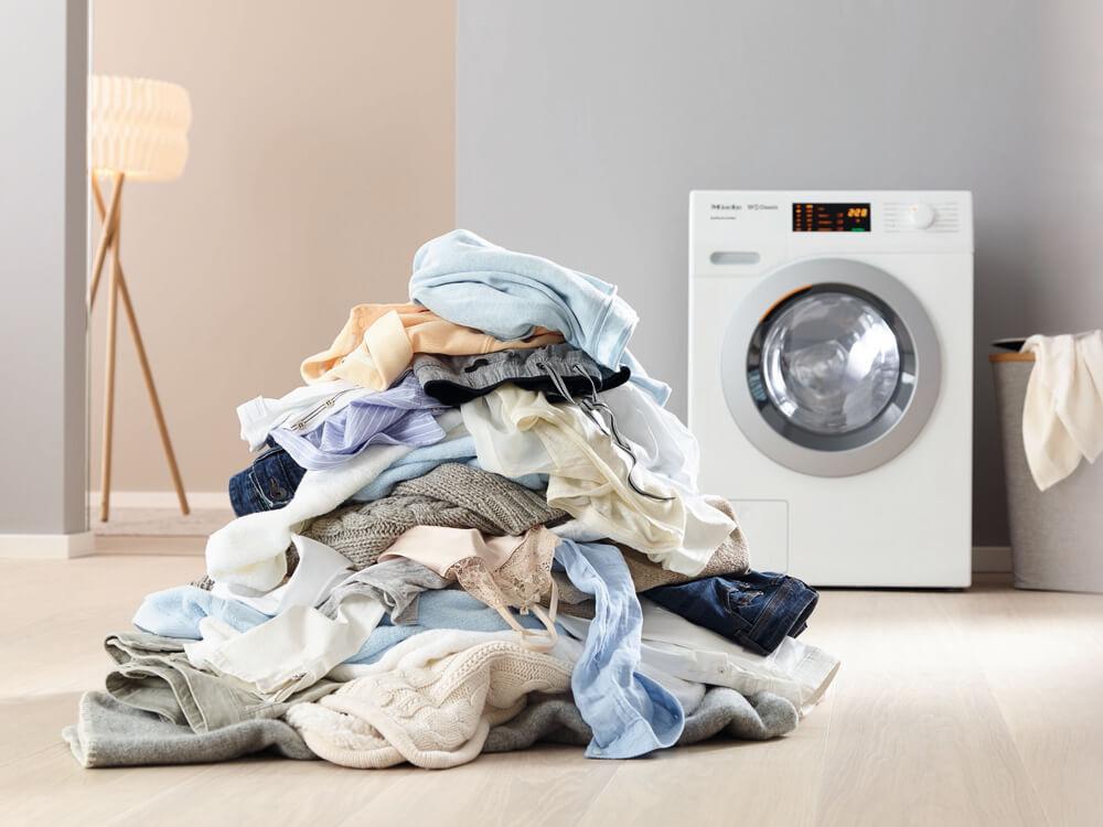 Errores que cometemos al lavar la ropa MIele