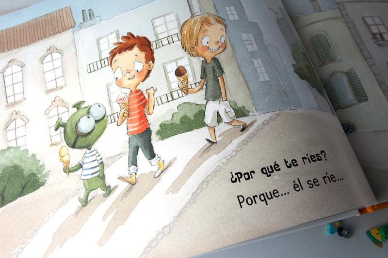 Mi amigo extraterrestre, de Rocío Bonilla