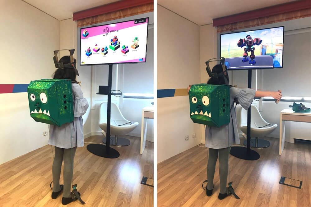 Toy con 02 el robot Nintendo Labo