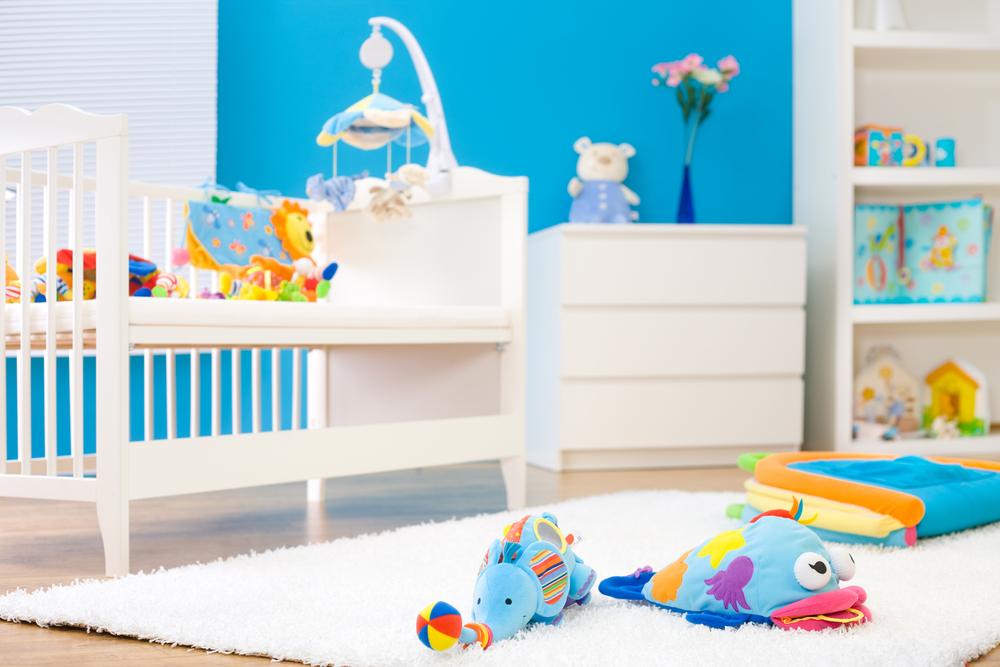 Hogar seguro para tu bebe. Dormitorio