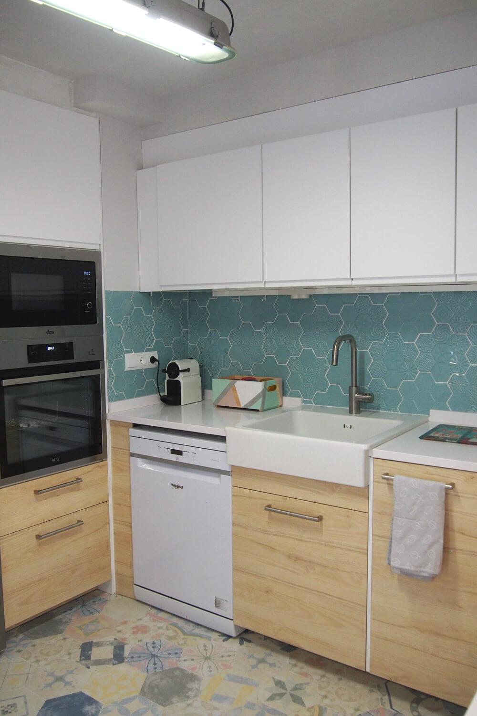 Mi experiencia comprando una cocina en ikea mamis y beb s - Azulejos cocina ikea ...