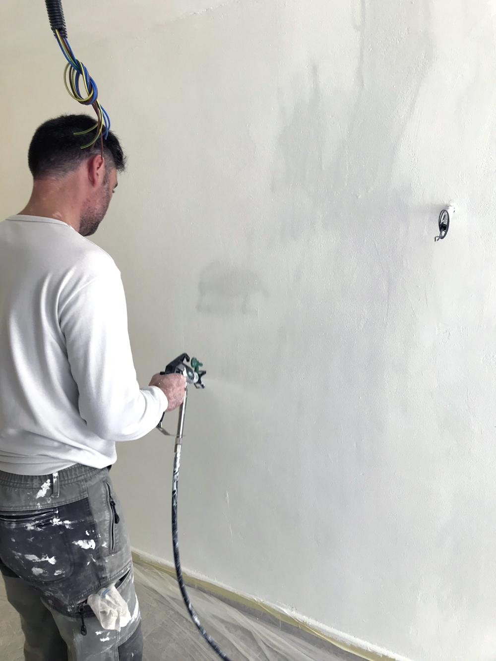 Pintando con airless