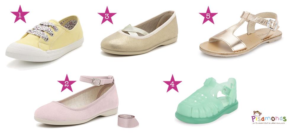 calzado chicas pisamonas