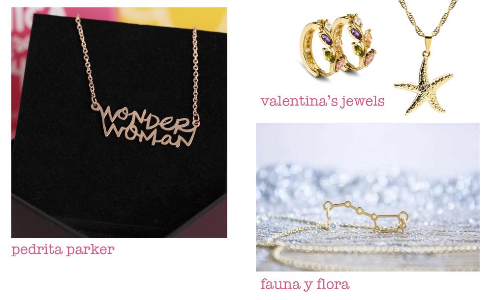 joyas no personalizadas