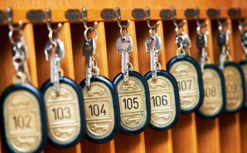 llaves de hotel
