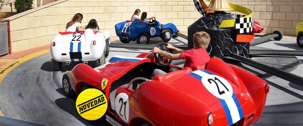 Ferrari Land Champions Race