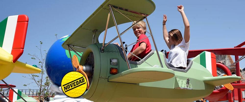 Ferrari Land Flying Race