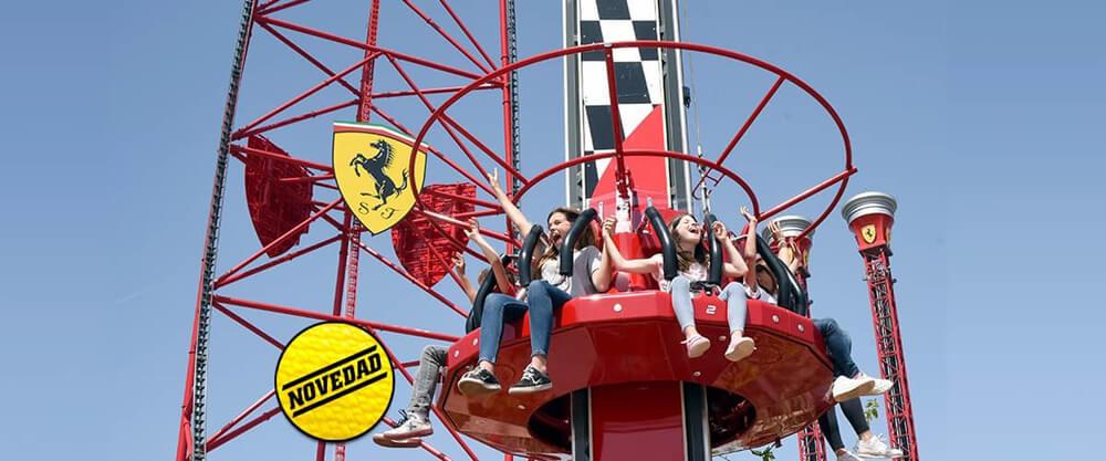 Ferrari Land Kids Tower