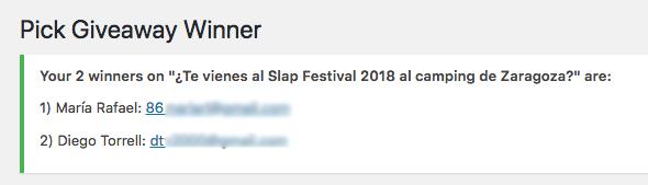 Ganadores Slap Festival 2018